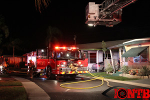 Fire at Teakwood MHP
