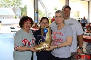 1st Place Team awarded the Gold Boot at the Largo Fire Rescue Open House