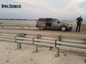 Photo of the Honda Odyssey that Matthew Collman was suspected of driving